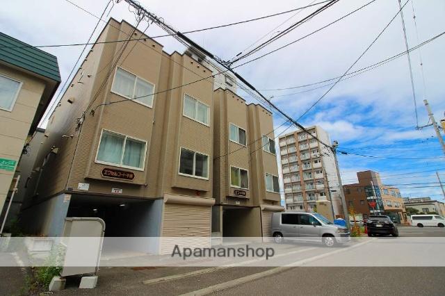 北海道札幌市豊平区、平岸駅徒歩10分の築19年 3階建の賃貸アパート