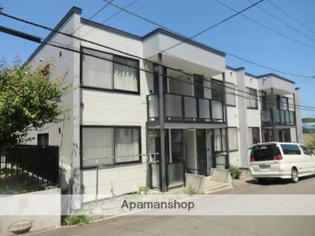 北海道札幌市南区、澄川駅じょうてつバスバス19分南沢1−3下車後徒歩3分の築20年 2階建の賃貸アパート