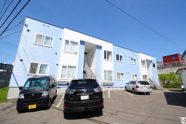 北海道札幌市南区、自衛隊前駅徒歩19分の築27年 2階建の賃貸アパート