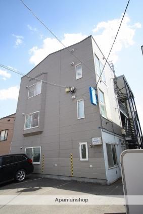 北海道札幌市豊平区、南平岸駅徒歩15分の築29年 3階建の賃貸アパート