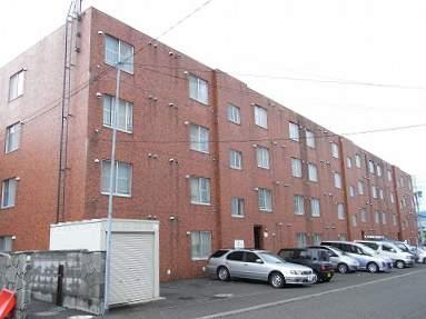 北海道札幌市豊平区、平岸駅徒歩12分の築33年 4階建の賃貸マンション