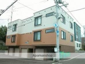 北海道札幌市豊平区、南平岸駅徒歩23分の築10年 3階建の賃貸アパート