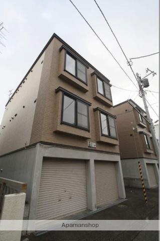 北海道札幌市豊平区、白石駅徒歩15分の築15年 3階建の賃貸アパート