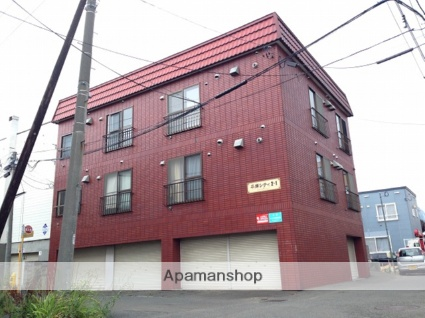 北海道札幌市豊平区、平岸駅徒歩13分の築31年 3階建の賃貸マンション