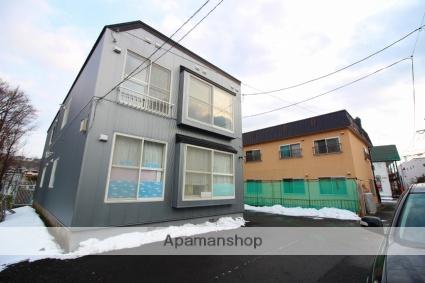 北海道札幌市南区、自衛隊前駅徒歩5分の築25年 2階建の賃貸アパート