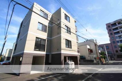 北海道札幌市南区、自衛隊前駅徒歩19分の築4年 4階建の賃貸マンション