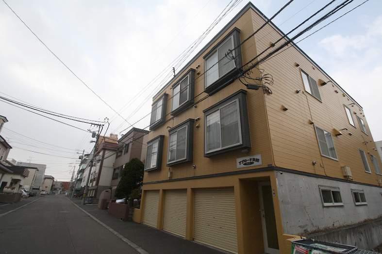 北海道札幌市豊平区、平岸駅徒歩15分の築22年 3階建の賃貸アパート