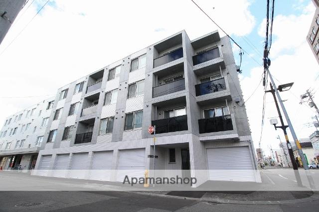 北海道札幌市豊平区、平岸駅徒歩10分の築2年 4階建の賃貸マンション