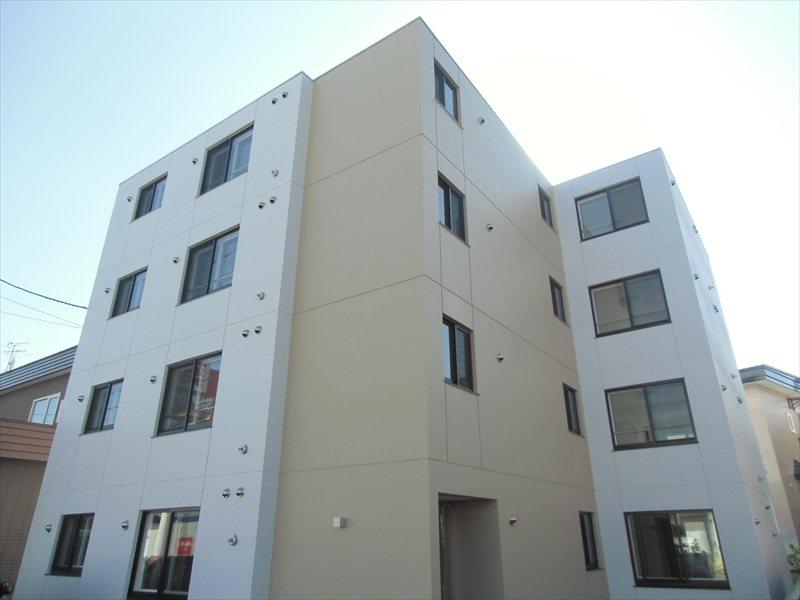 北海道札幌市豊平区、月寒中央駅徒歩11分の築2年 4階建の賃貸マンション