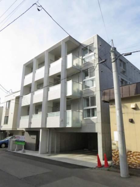 北海道札幌市豊平区、白石駅徒歩8分の新築 4階建の賃貸マンション