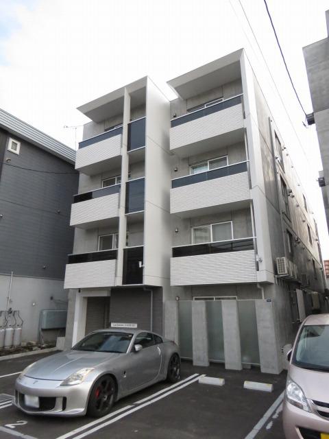 北海道札幌市豊平区、菊水駅徒歩14分の築1年 4階建の賃貸マンション