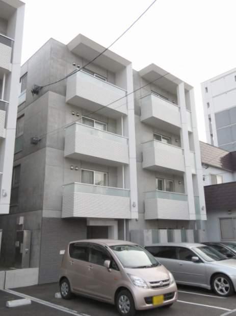 北海道札幌市豊平区、菊水駅徒歩14分の新築 4階建の賃貸マンション