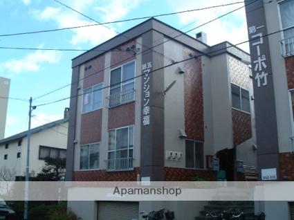 北海道札幌市西区、琴似駅徒歩12分の築32年 3階建の賃貸アパート