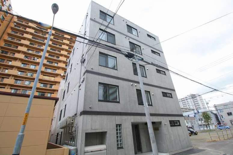 北海道札幌市豊平区、菊水駅徒歩7分の新築 5階建の賃貸マンション