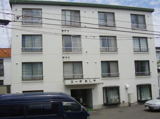 北海道札幌市豊平区、平岸駅徒歩19分の築33年 4階建の賃貸マンション