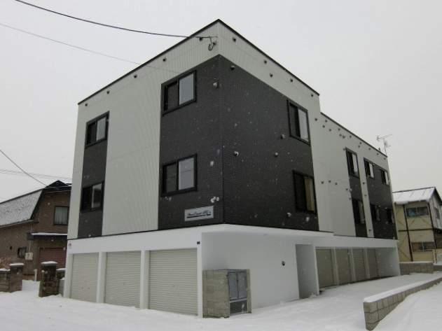 北海道札幌市白石区、菊水駅JRバスバス15分菊水元町5条下車後徒歩8分の新築 3階建の賃貸アパート