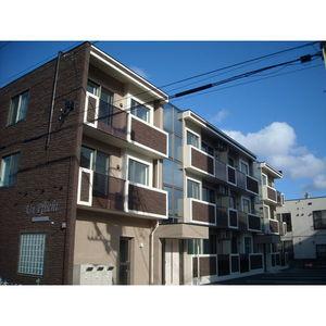 北海道札幌市豊平区、白石駅徒歩13分の新築 3階建の賃貸マンション