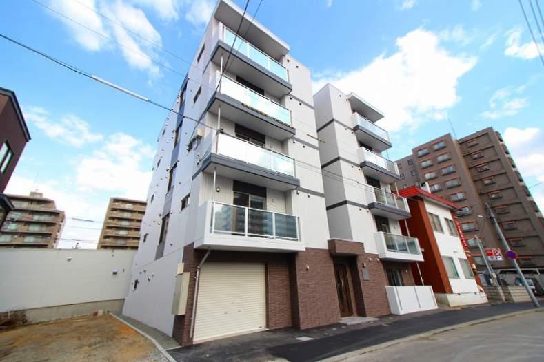 北海道札幌市中央区、二十四軒駅徒歩8分の新築 5階建の賃貸マンション