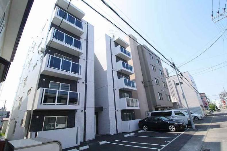 北海道札幌市白石区、苗穂駅徒歩14分の新築 5階建の賃貸マンション