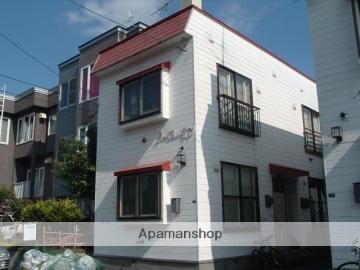 北海道札幌市豊平区、平岸駅徒歩13分の築33年 2階建の賃貸アパート