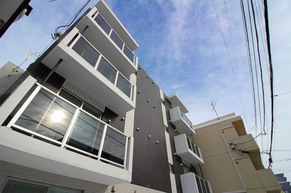 北海道札幌市白石区、白石駅徒歩14分の新築 4階建の賃貸マンション