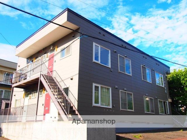 北海道札幌市豊平区、美園駅徒歩14分の築22年 2階建の賃貸アパート