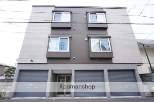 北海道札幌市豊平区、白石駅徒歩11分の築6年 3階建の賃貸アパート