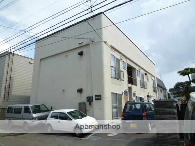 北海道札幌市豊平区、平岸駅徒歩7分の築43年 2階建の賃貸アパート