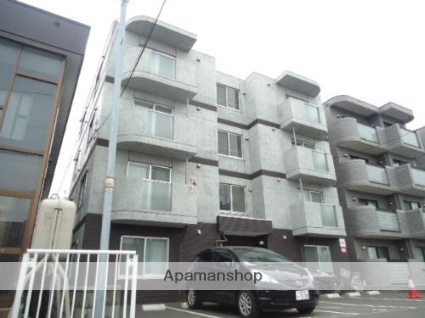 北海道札幌市白石区、苗穂駅徒歩14分の築6年 4階建の賃貸マンション