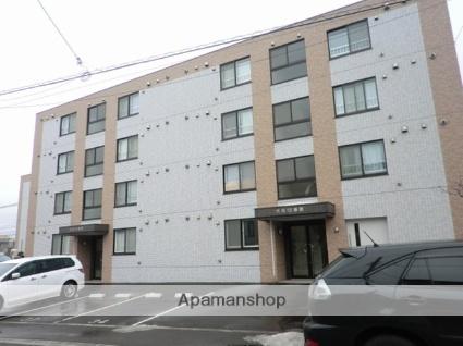 北海道札幌市豊平区、福住駅徒歩14分の築6年 4階建の賃貸マンション