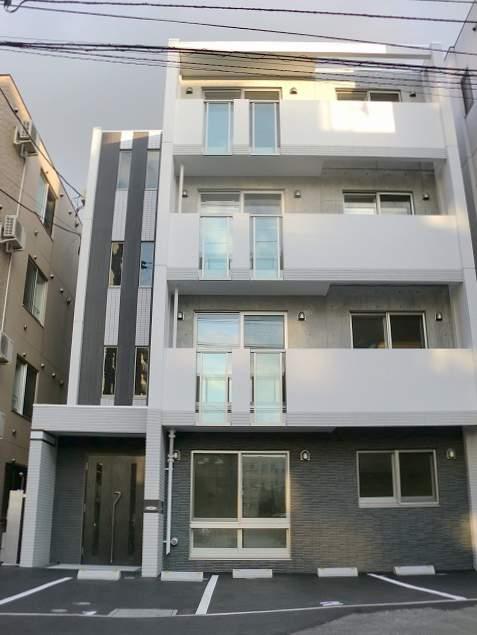 北海道札幌市豊平区、平岸駅徒歩15分の築5年 4階建の賃貸マンション