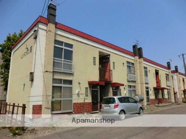 北海道札幌市東区、北34条駅徒歩20分の築43年 2階建の賃貸アパート