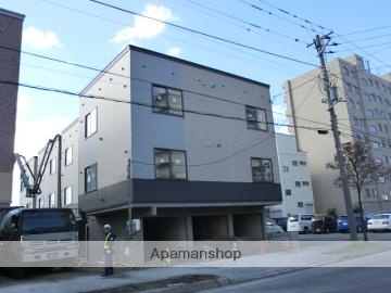 北海道札幌市厚別区、厚別駅徒歩20分の築4年 3階建の賃貸アパート