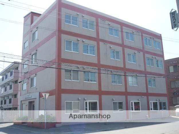 北海道札幌市豊平区、中の島駅徒歩13分の築46年 4階建の賃貸マンション