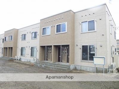 北海道札幌市豊平区、南郷7丁目駅徒歩23分の築3年 2階建の賃貸アパート