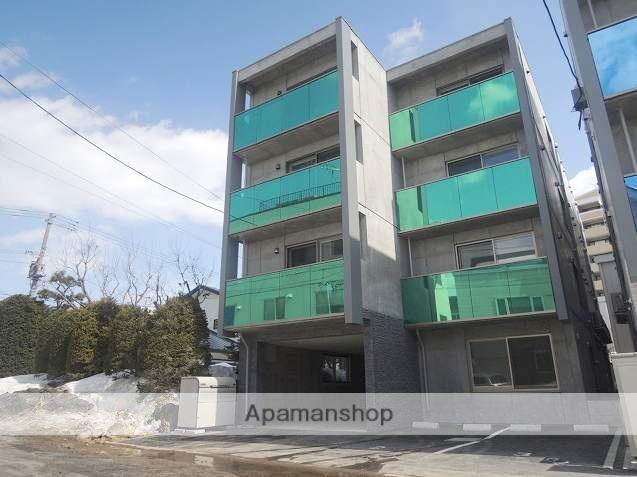 北海道札幌市豊平区、中の島駅徒歩10分の築3年 4階建の賃貸マンション