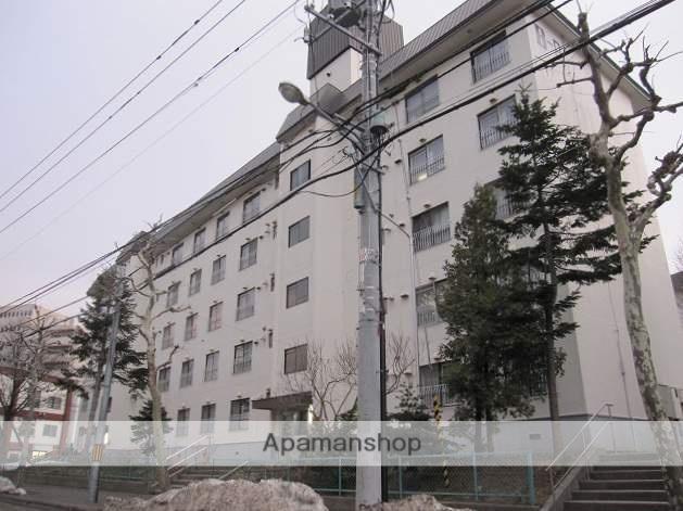 北海道札幌市豊平区、中の島駅徒歩7分の築44年 5階建の賃貸マンション