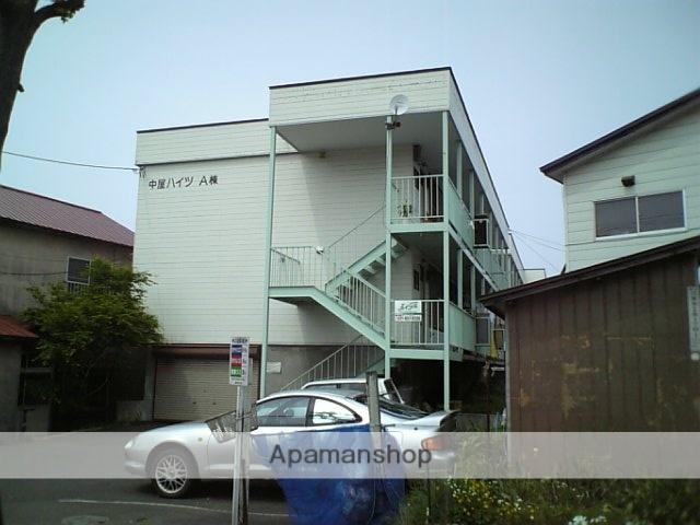 北海道札幌市豊平区、白石駅徒歩12分の築30年 3階建の賃貸アパート