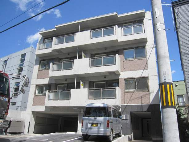 北海道札幌市豊平区、平岸駅徒歩12分の築4年 4階建の賃貸マンション