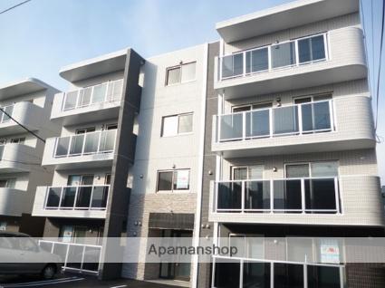 北海道札幌市東区、元町駅徒歩10分の築3年 4階建の賃貸マンション