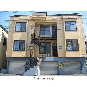 北海道札幌市豊平区、豊平公園駅徒歩15分の築28年 3階建の賃貸アパート