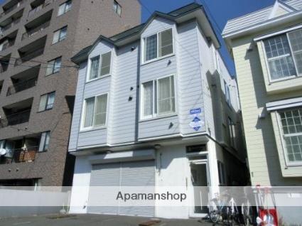 北海道札幌市豊平区、幌平橋駅徒歩13分の築27年 3階建の賃貸アパート