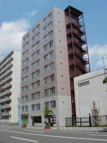 北海道札幌市豊平区、幌平橋駅徒歩6分の築35年 10階建の賃貸マンション