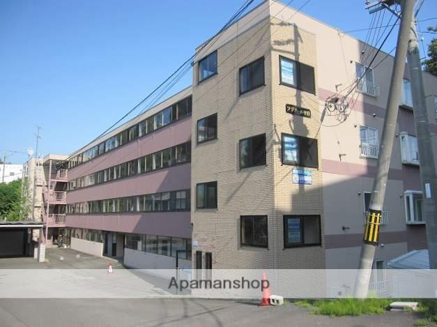 北海道札幌市豊平区、南平岸駅徒歩15分の築27年 4階建の賃貸マンション