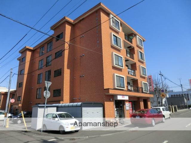 北海道札幌市豊平区、東札幌駅徒歩11分の築28年 5階建の賃貸マンション