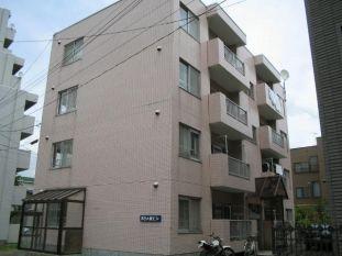 北海道札幌市南区、澄川駅徒歩7分の築26年 4階建の賃貸マンション