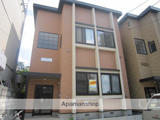 北海道札幌市豊平区、美園駅徒歩14分の築11年 2階建の賃貸アパート