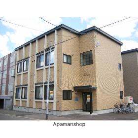 北海道札幌市豊平区、南郷7丁目駅徒歩15分の築11年 2階建の賃貸アパート