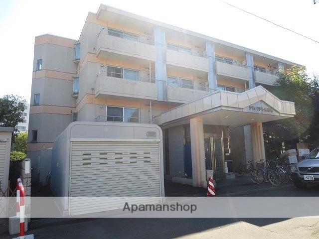 北海道札幌市豊平区、中島公園駅徒歩13分の築26年 4階建の賃貸マンション