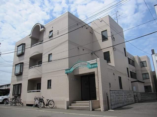 北海道札幌市豊平区、平岸駅徒歩12分の築28年 3階建の賃貸マンション